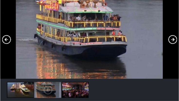 """The first group of Chinese tourists to visit Thailand on a cruise along the Mekong River travelled aboard two Chinese boats (""""Yenta 7"""" and """"Yenta 8"""") and one Thai boat (""""Kasalongkham"""") that departed the Guan Lei port in China's Yunnan province.  #chinesetourist #mekongriver"""