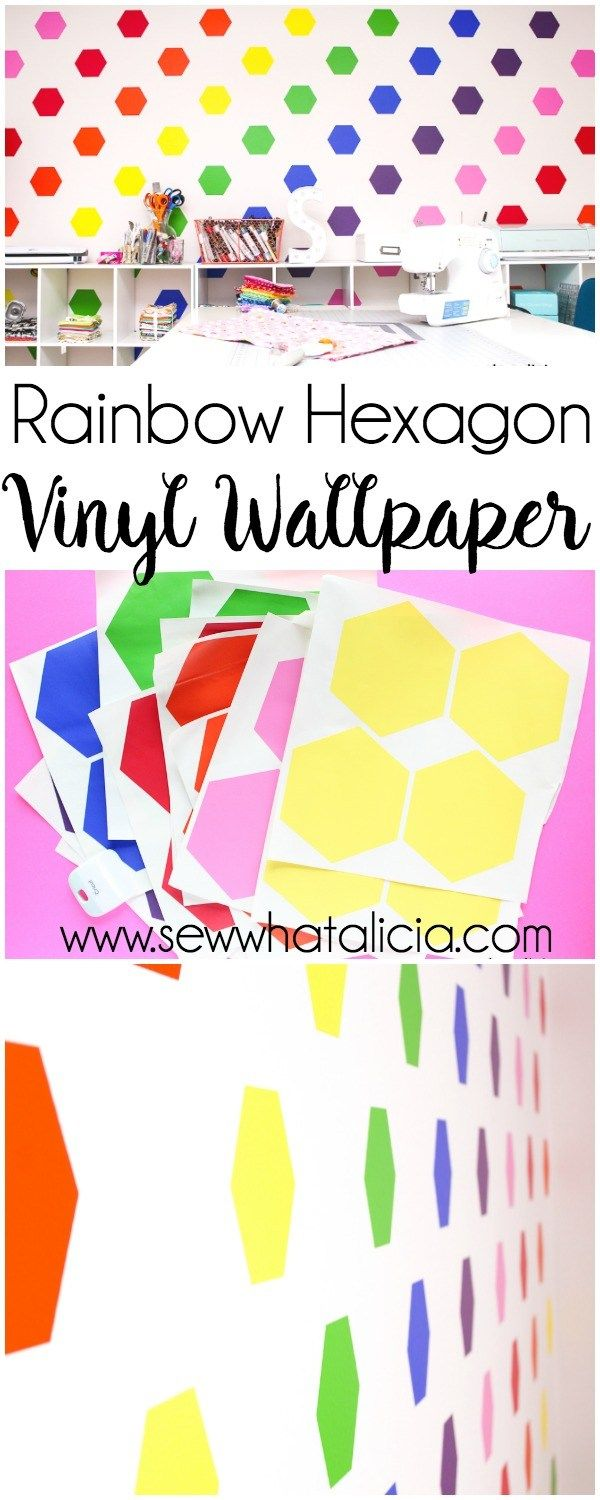 How To Make Your Own Wallpaper Using Vinyl