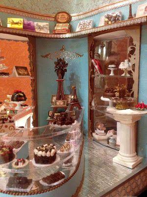 Boutique de chocolats. (true2scale)