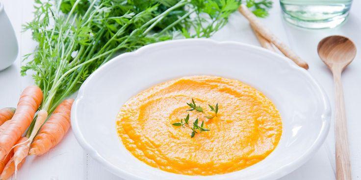 Καροτόσουπα με πορτοκάλι