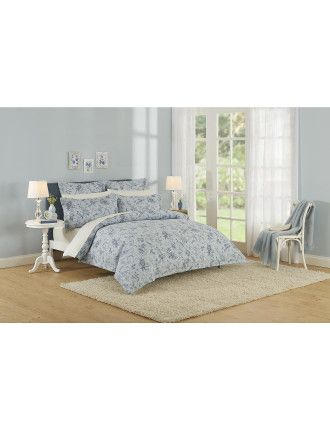Pillemont Toile Que Quilted Cover Queen