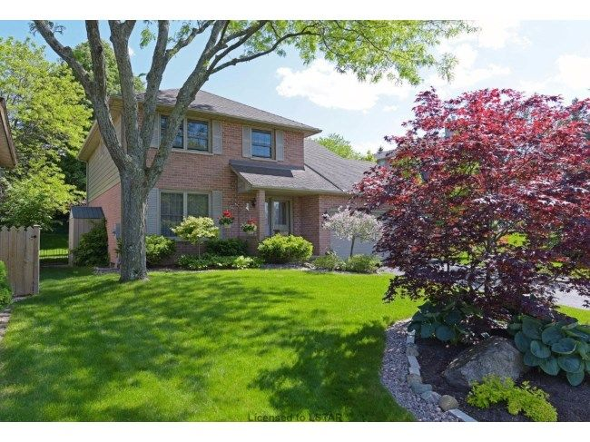 111 WESTRIDGE PL - Excellent Value in this Wonderful Family Home located on a hillside Cul-de-sac in the Byron Somerset, featuring main floor family room, solarium sunroom addition, and 4 bathrooms. Lots of Curb Appeal here! Gorgeous mature backyard setting. `A Must See` with tiered sundeck, 2 sheds and lots of privacy. A/C & Air Cleaner 2010, Furnace 12.5 yrs, Sunroom Awning replaced 2016, 40 yr Shingles 2008, garage door opener 2014. CALL RON O'CONNELL, SALES REPRESENTATIVE 519.673.3390