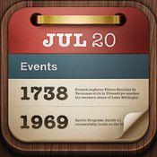 On this day... är en app som tar upp historiska händelser - slå upp något, samtala om vad, hur och varför.