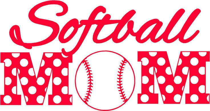 Details About Softball Mom Polka Dots Vinyl Car Window
