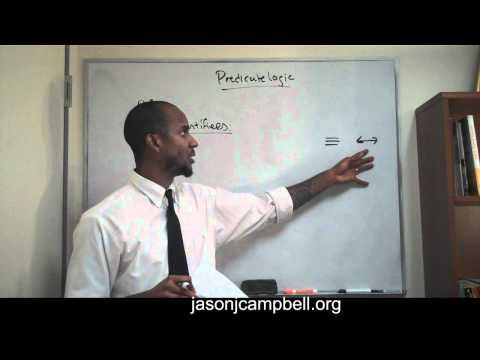2. Logic Lecture: Introduction to Predicate Logic - YouTube