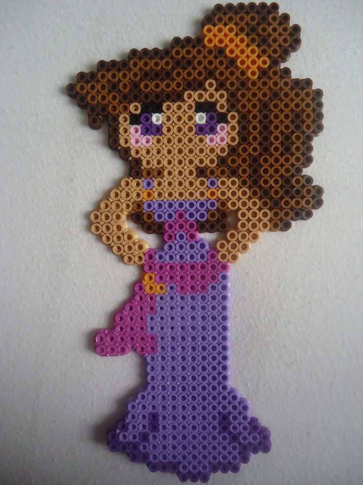 Megara Hercules perler beads by PerlerHime on deviantART