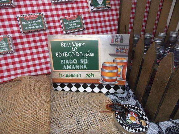 Cartão / Placa de papel para Reserva de Mesa www.catiacunha.com/blog
