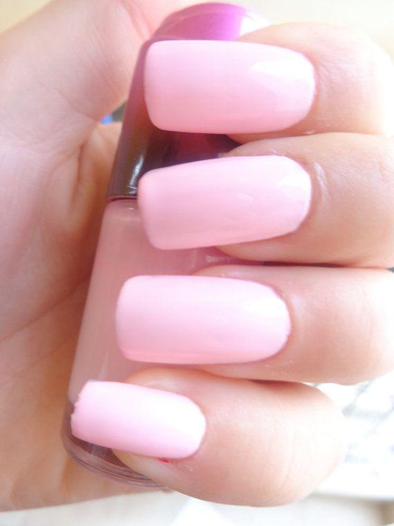 Baby pink nail polish handmade 18ml Light Pink by ...