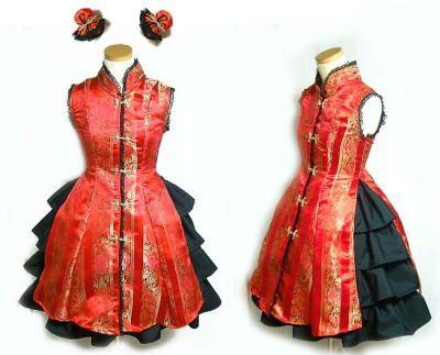 Qi Lolita Chinese style