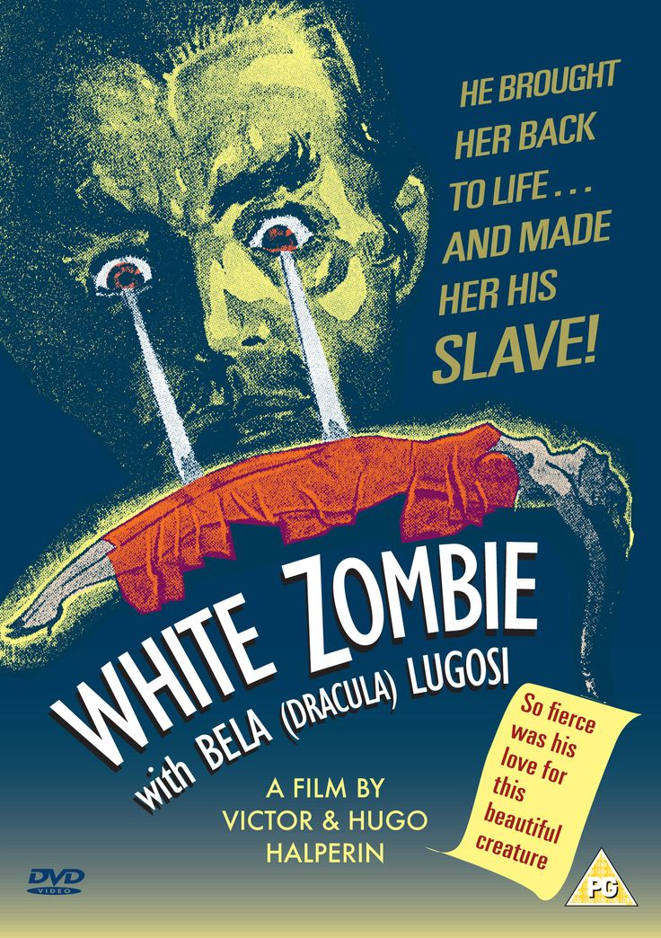 White Zombie (1932) | 300 DPI Cover Art (JPG) » Sales Sheet (PDF) »