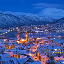 Charming Norway winter evening!