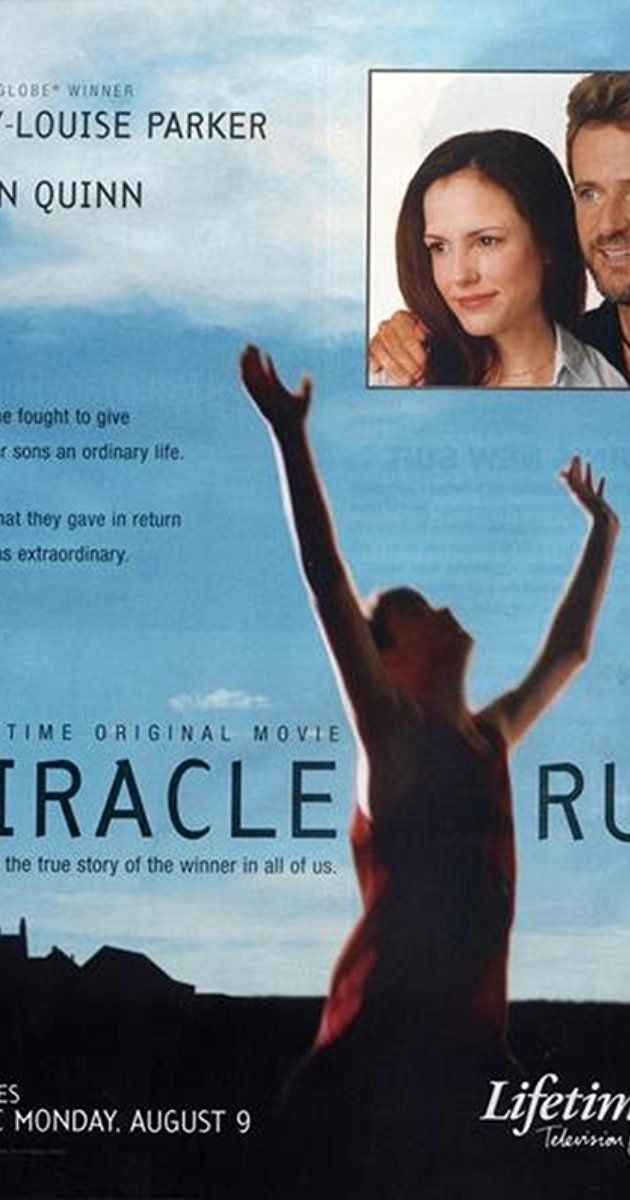 Directed by Gregg Champion.  With Mary-Louise Parker, Aidan Quinn, Zac Efron, Bubba Lewis. The social stigma and discrimination of autistic children is present in the movie Miracle Run. The life of Corrine Morgan-Thomas, the mother of autistic twins Stephen and Philip, changes drastically when she finally finds out that her sons are autistic. The first few doctors she takes her sons to are unable to diagnose them with any problem, saying that they are just fine; fortunately, Corrine ...