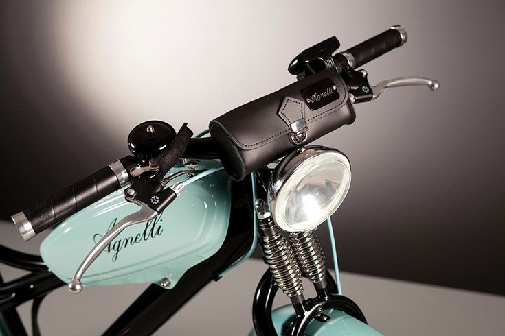 luca agnelli hand builds electric bicycles with vintage 1950s pieces