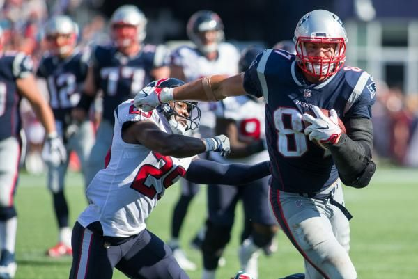 TAMPA, Fla. -- The New England Patriots will be without tight end Rob Gronkowski for Thursday's game against the Tampa Bay Buccaneers, who…