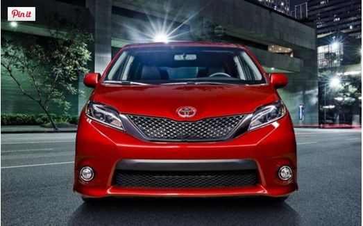 2018 Toyota Sienna Specsification, Performance And Release Date