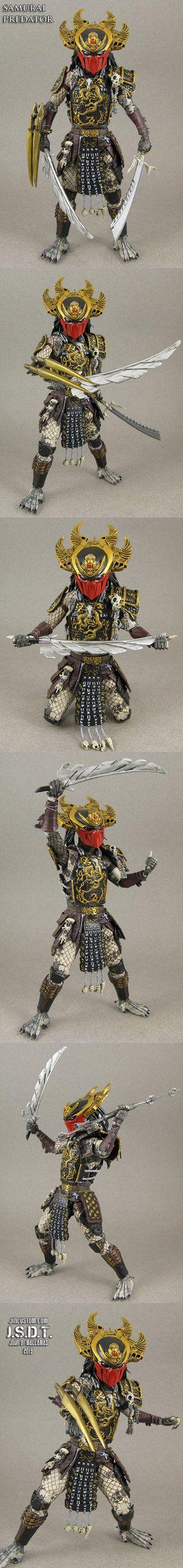 Samurai Predator Action Figure Custom by Jin-Saotome