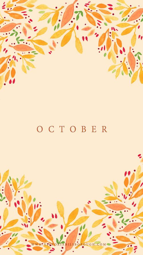 October Calendar Wallpaper Iphone : Best images about iphone and desktop backgrounds