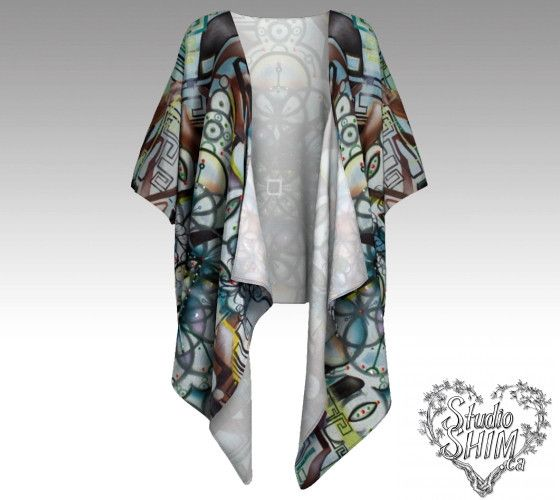 Made to order Draped Kimono, perfect for all occasions.