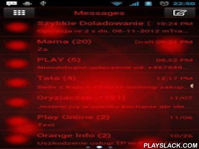 Red Orbit Theme For GO SMS Pro  Android App - playslack.com ,  Volledig nieuw thema. Red GO SMS Pro is iets dan ongewoon. U zult genieten van het in het eerste contact. Echt ongelooflijk en modern. Bekijk onze beste grafische patronen. Deze GO SMS Pro thema is zeer eenvoudig en duidelijk, zodat u dit thema kunnen zijn comfortabel. Model van het hoofdscherm op basis van chemie, atomen en elementen onderwerp. Dit thema zal goed zijn op zoek naar science fiction, UFO en universum fans. Als je…