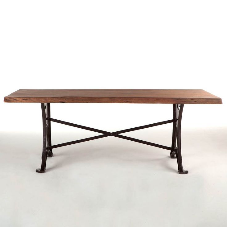 Organic Forge 80″ Dining Table