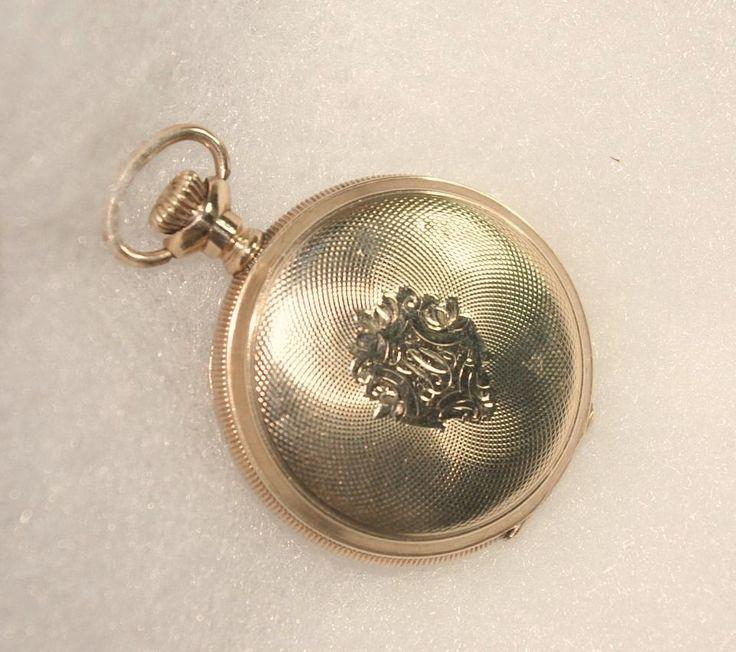 Antique Waltham Ladies Pocket Watch ca 1912 - Gold Filled - No. 7 #Waltham