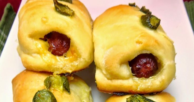 Bacon, Butter, Cheese & Garlic: Sausage & Jalapeno Kolaches