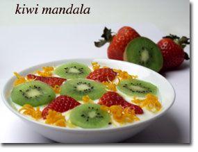 Kiwi mandala.