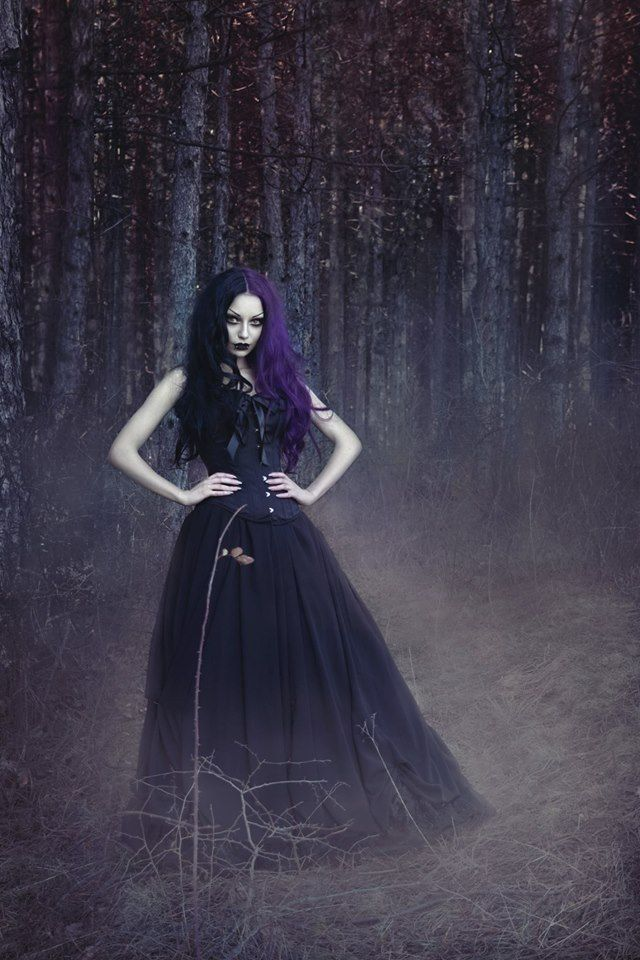 Photo/ Model/ MUA: Darya Goncharova Welcome to Gothic and Amazing |www.gothicandamazing.com