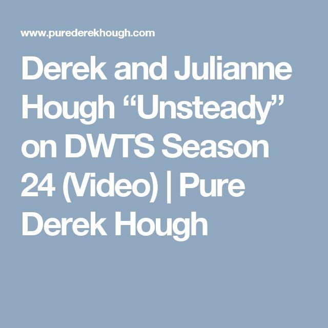 "Derek and Julianne Hough ""Unsteady"" on DWTS Season 24 (Video) | Pure Derek Hough"