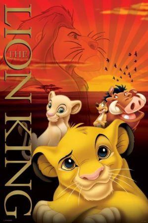 The Lion King Metallic Ink Poster (24-0018)
