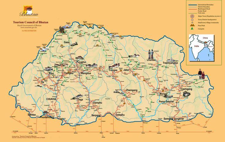 BUTÃO  CAPITAL: Thimphu  PONTOS DE INTERESSE: Mosteiro Paro Taktsang  MOEDA: Ngultrum (BTN)  VACINAS: As condições médicas nos hospitais são inadequadas. Sugere-se fazer seguro de saúde e trazer medicamentos básicos. Não há vacinas obrigatórias para a entrada no Butão, embora seja aconselhável a imunização preventiva contra tifoide, hepatite e cólera. Conselhos alimentares …