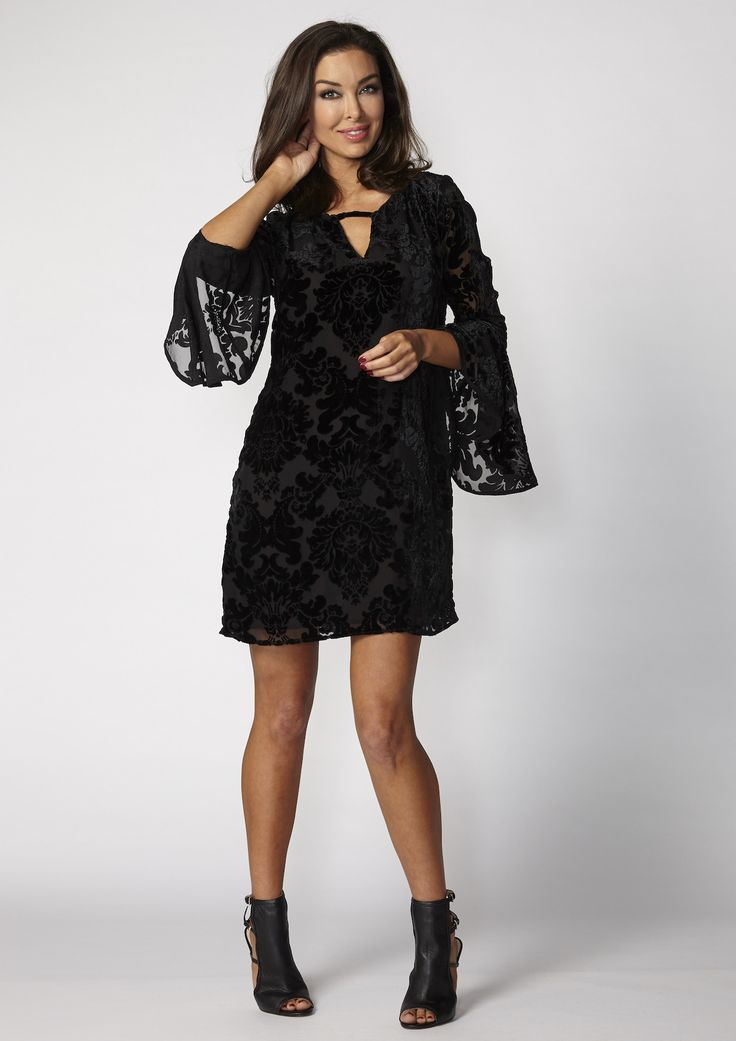 Very Very - Audrey Tunic In Black