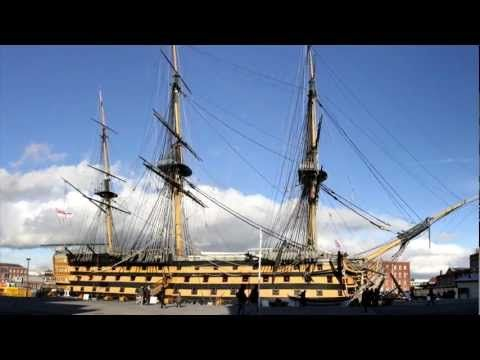 Historic Ships : Mary Rose : HMS Victory : HMS Warrior ~ Portsmouth - YouTube
