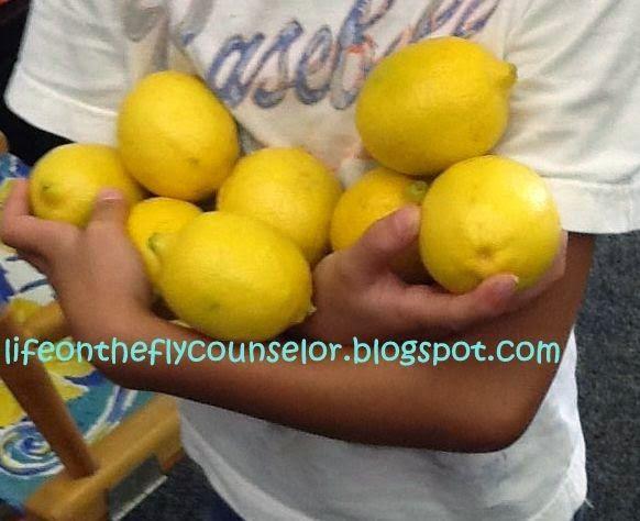 Perseverance Lesson  - TPT Lesson-http://www.teacherspayteachers.com/Store/Life-On-The-Fly-School-Counselor Life on the Fly.... A School Counselor Blog: Perseverance: Turn Those Lemons into Lemonade!