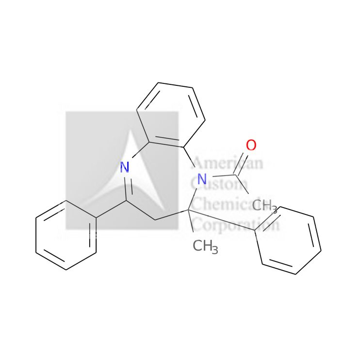 1-(2-METHYL-2,4-DIPHENYL-3H-1,5-BENZODIAZEPIN-1-YL)ETHANONE is now  available at ACC Corporation