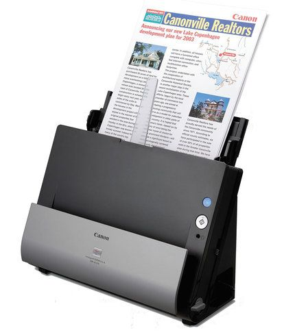 Innovative document scanner (both sides at once) by Canon   キャノンの画期的、両面ドキュメントスキャナー