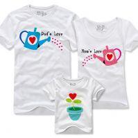 """Семейные футболки """"Расту в любви"""""""