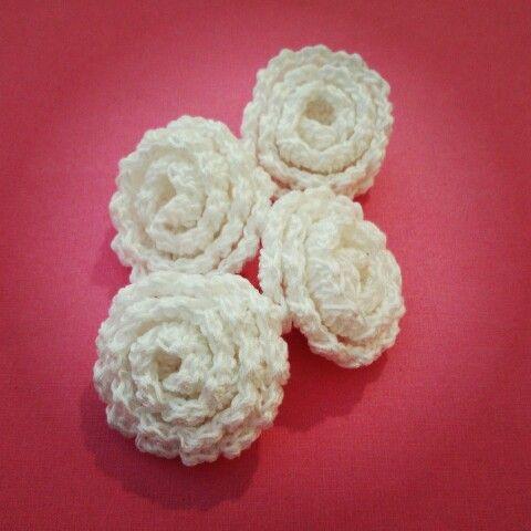 Rose a crochet