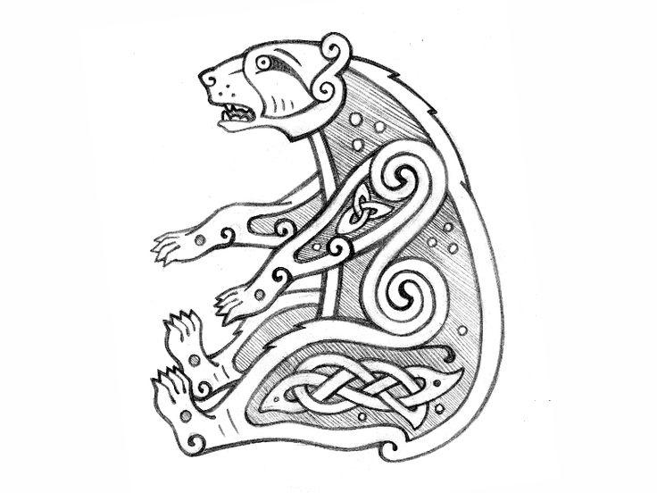 51 best celtic bear images on pinterest bear tattoos