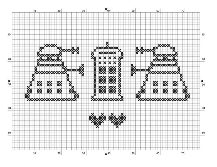 Free dr who pattern for you Dalek Tardis