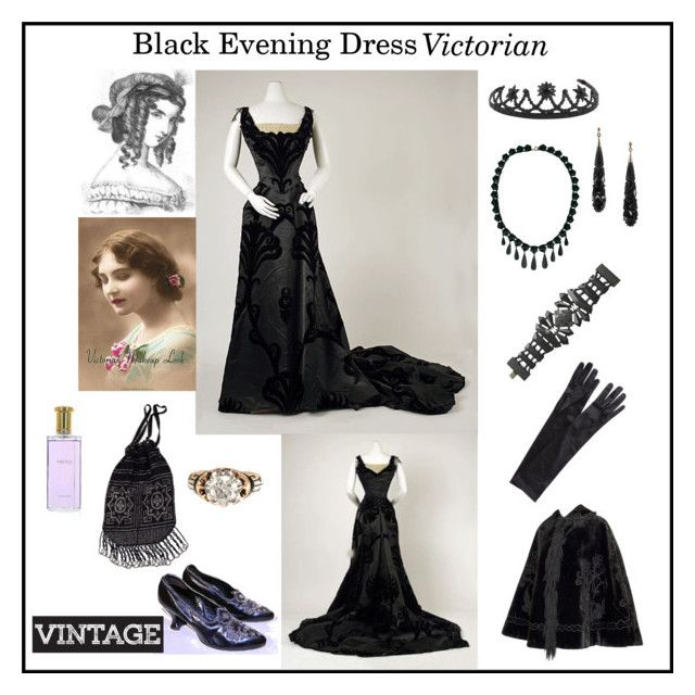 """Black Evening Dress"" by marnie1979 ❤ liked on Polyvore featuring John Lewis"