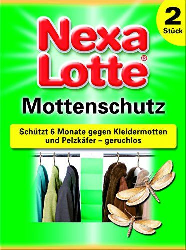 Nexa Lotte Mottenschutz - 2 St. Nexa Lotte http://www.amazon.de/dp/B006FJJQ6O/ref=cm_sw_r_pi_dp_vRjAwb1XCTKDH