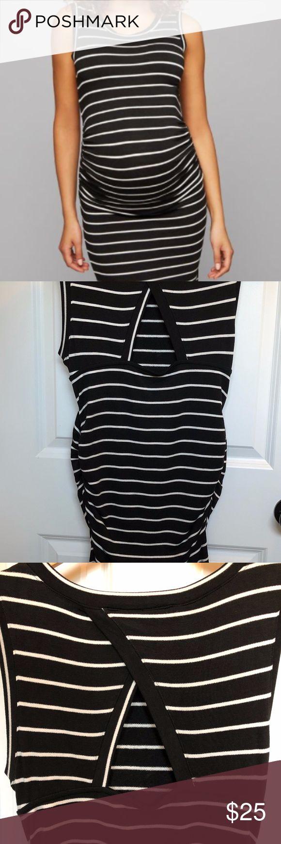 Best 20 striped maternity dresses ideas on pinterest summer a pea in the pod striped maternity dress medium ombrellifo Gallery