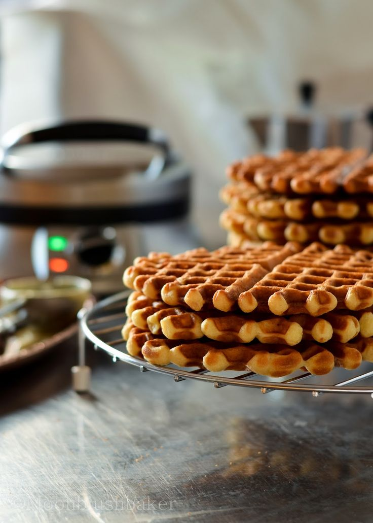 Browned Butter Yeasted Waffles