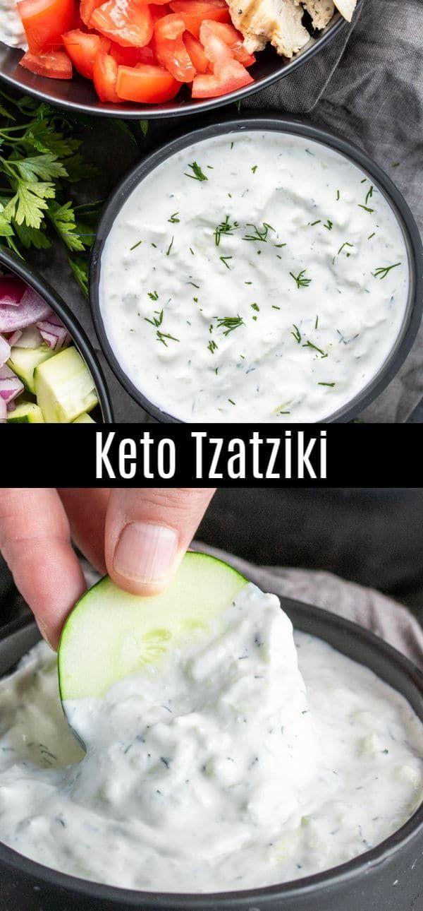 Keto Tzatziki Sauce Home Made Interest Sourcream In 2020 Tzatziki Saus Recept Zure Room Recepten Grieks Eten
