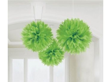 Lime Green Fluffy Decorations | Whish.ca