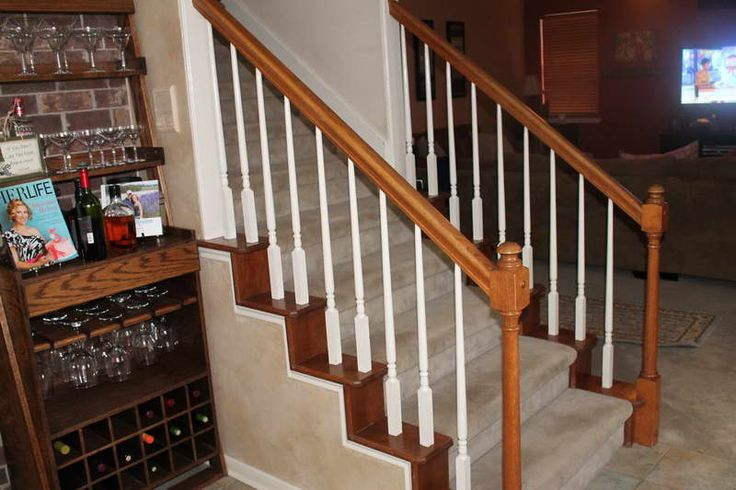 Best Staircase Spindles With Glass Wall Shelves Jpg 800×533 400 x 300