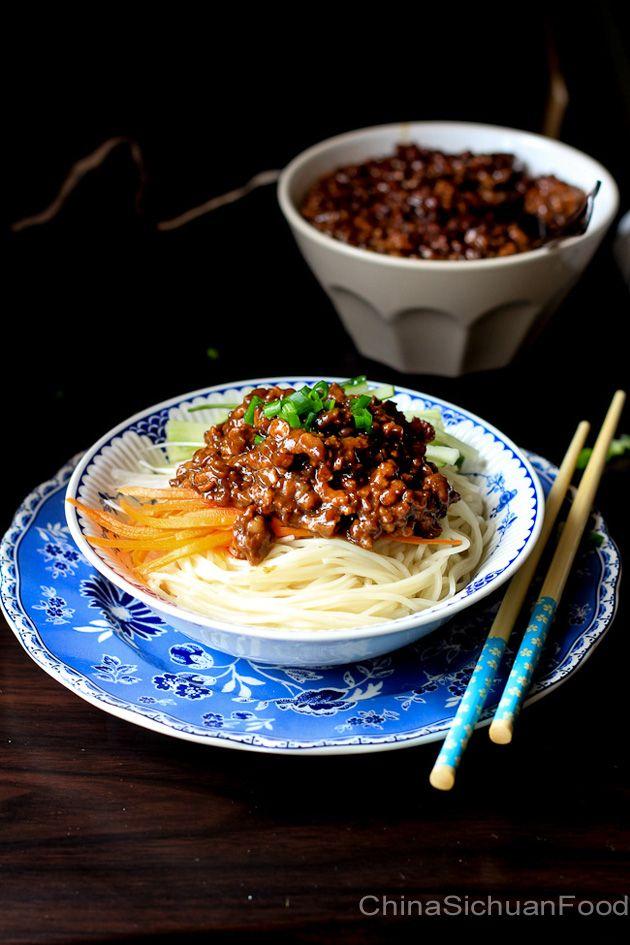 Zha Jiang Mian (Minced Pork Noodles) #Chinese