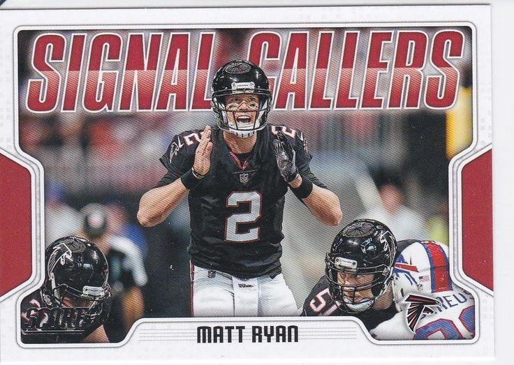 2018 Score Signal Callers Matt Ryan Atlanta Falcons Sports