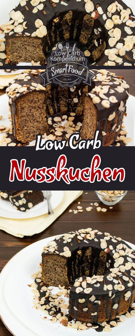 Saftiger Nusskuchen Low Carb Glutenfrei Und Ohne Zucker